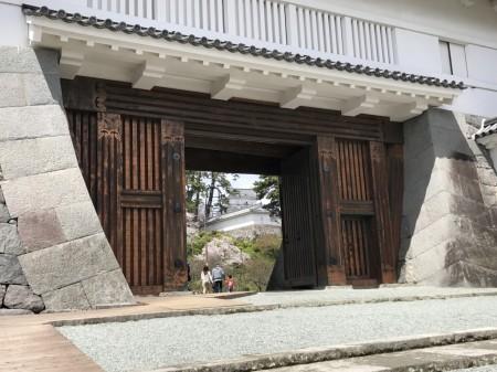 Akagane gate in Odawara castle