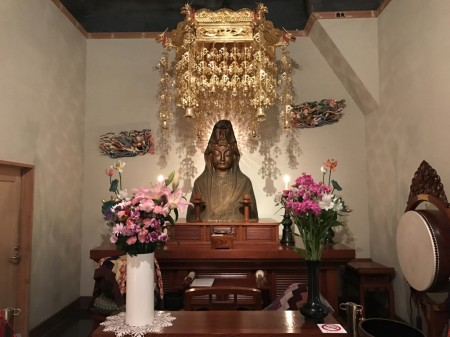 One-twentieth Kannon inside the Ofuna Kannon