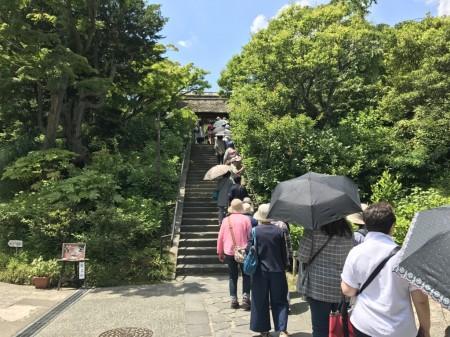 Sanmon gate at Tokeiji temple in Kamakura