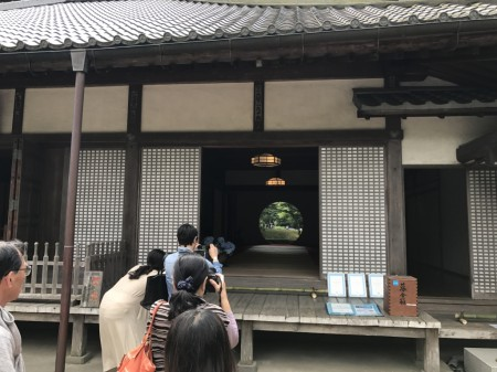 main hall(Hojo) at Meigetsuin in Kamakura