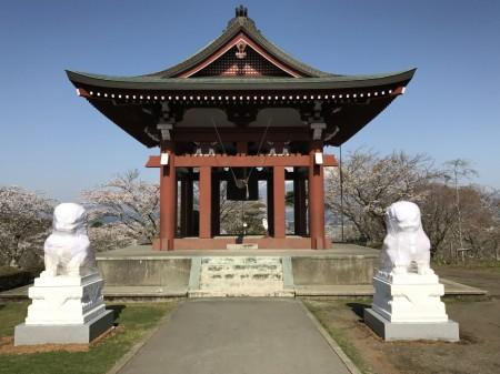 Belfry at Heiwa Koen Park