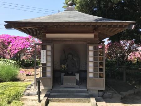 Jizo temple in Anyoin temple in Kamakura