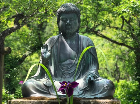 Buddha statue at Tokeiji temple in Kamakura
