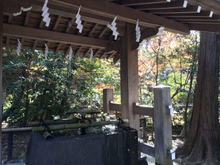 Temizusha in Zuisenji temple