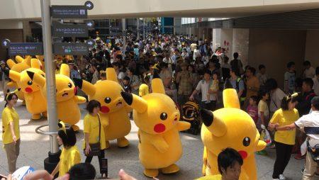 Pikachu parade of Pikachu Outbreak! 2015