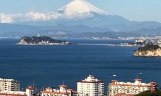 Mt.Fuji from Hiroyama park in Zushi