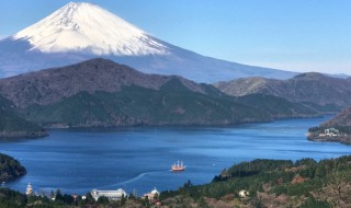 Mount Fuji at Fujimi-Toge in Hakone