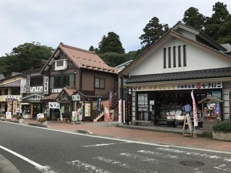 Souvenir shops in Moto Hakone