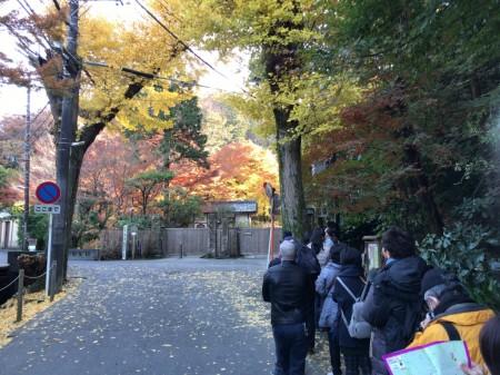 Entrance of Meigetsuin in Kamakura