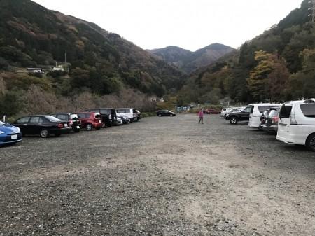 Temporary parking lot