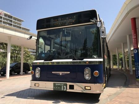 Free shuttle bus to Tokyo Disney Land of Mitsui Garden Hotel Prana Tokyo Bay