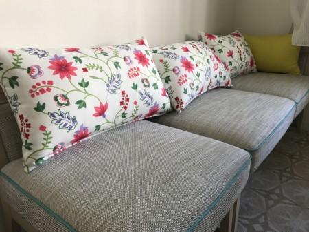 Sofa in the room of Mitsui Garden Hotel Prana Tokyo Bay