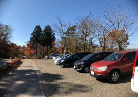 Free parking lot in Yuyake-no-Nagisa