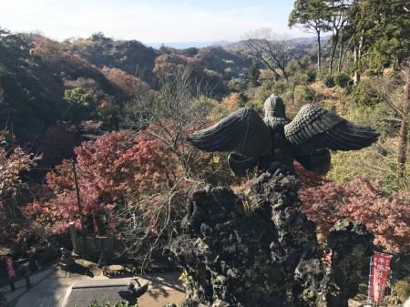 Tengu statue in Hansobo in Kenchoji temple