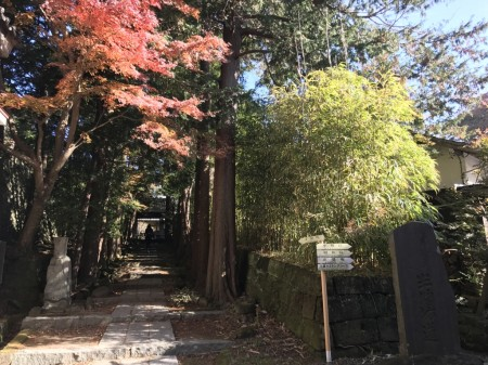 Path to the Hansobo in Kenchoji temple