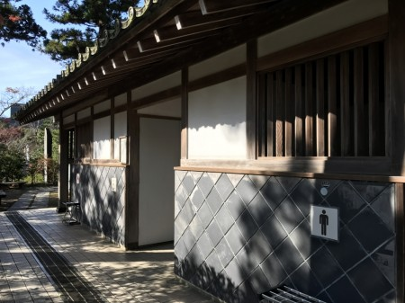 Public lavatory in Kenchoji temple