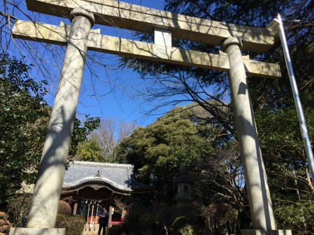 Azuma shrine in Ninomiya town