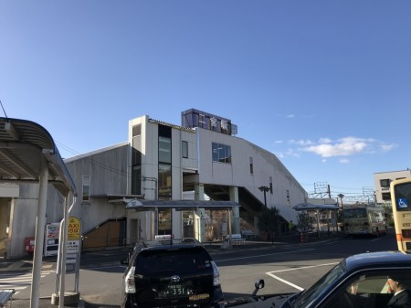 Ninomiya station of JR line