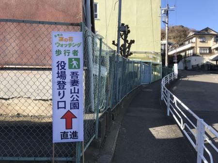 Path to Azumayama Park
