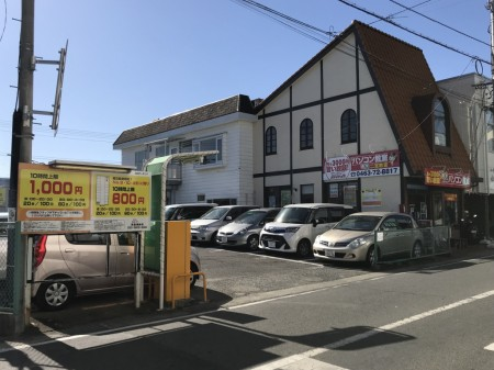 Kitaguchi Parking lot in Ninomiya City