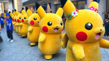 Pikachu parade of Pikachu Outbreak! 2018