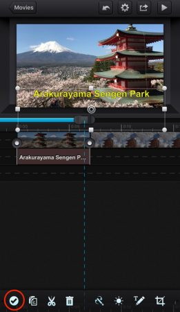 Add subtitle by cute cut pro 9