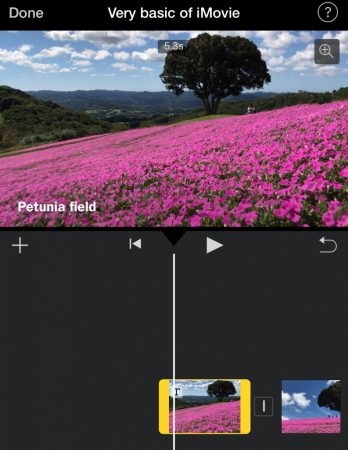 Add subtitle by iMovie for iOS4
