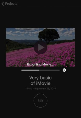 Export video by iMovie for iOS5