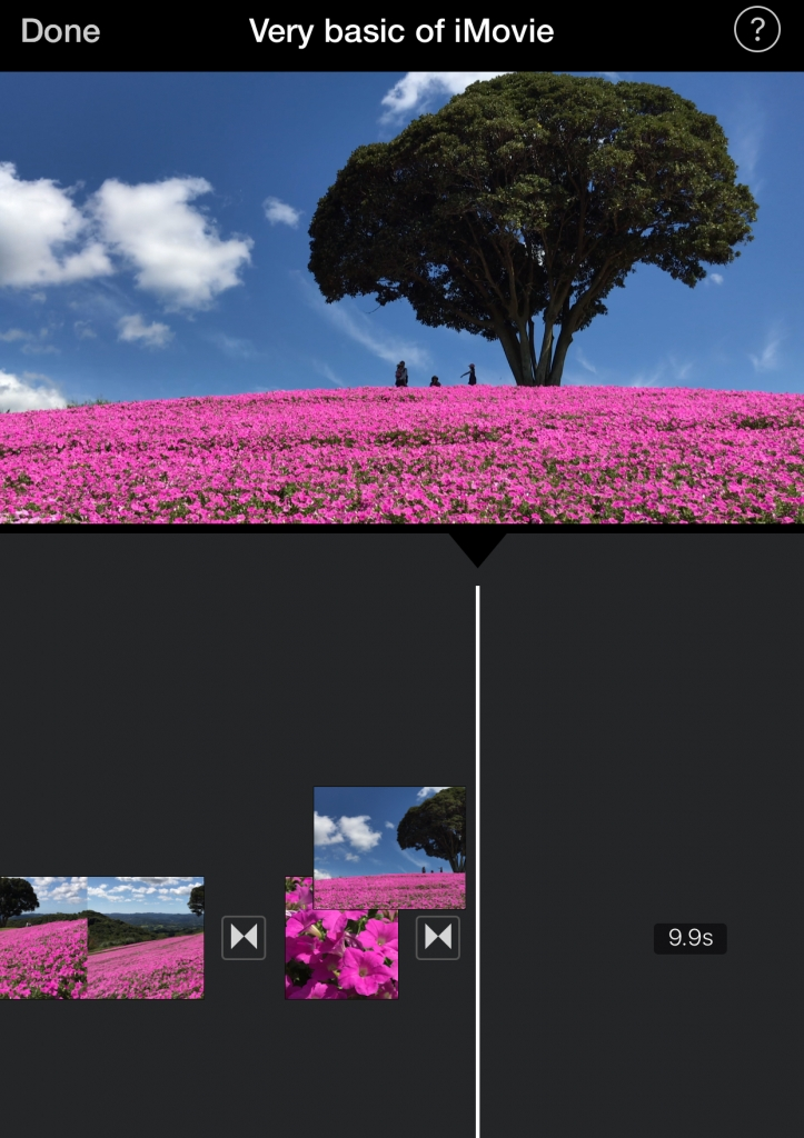 The very basic of iMovie | Amazing photo spots in Japan
