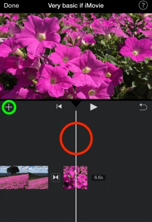 Select video by iMovie for iOS9