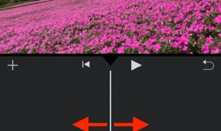 change the lengh of video by iMovie for iOS1