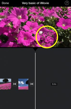move & delete video by iMovie for iOS5