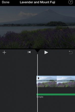 Fade out the music and video by iMovie for iOS4