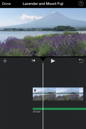 Fade out the music and video by iMovie for iOS5