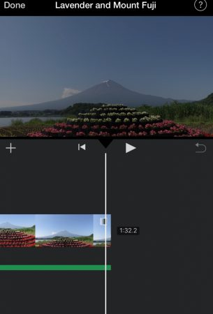 Fade out the music and video by iMovie for iOS7