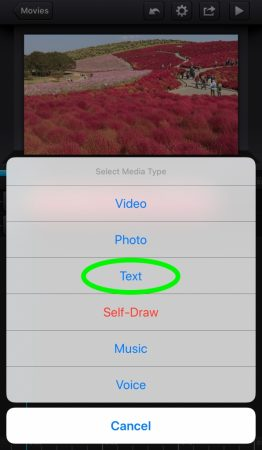 Add a border on the text by Cute Cut Pro2