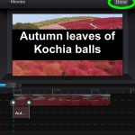 Add a border on the text by Cute Cut Pro3