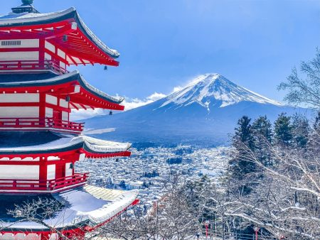 Snowscape of Ayakurayama Sengen Park