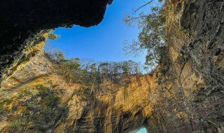 Ryugu cave in Shimoda city